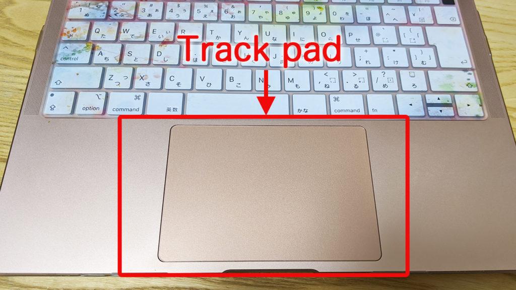 Track padの写真
